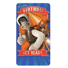 It's Your Birthday Wallace & Gromit Birthday Card