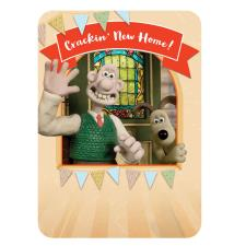 New Home Wallace & Gromit Card