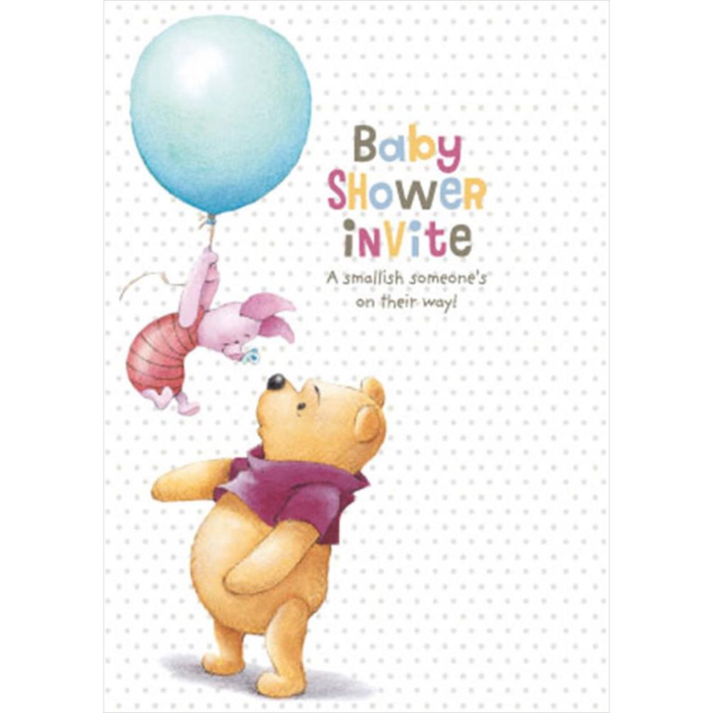 Baby Shower Invite Winnie The Pooh Cards (Pack of 8) (11503383 ...