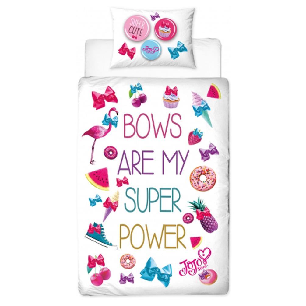JoJo Siwa Super Reversible Single Duvet Cover Bedding Set