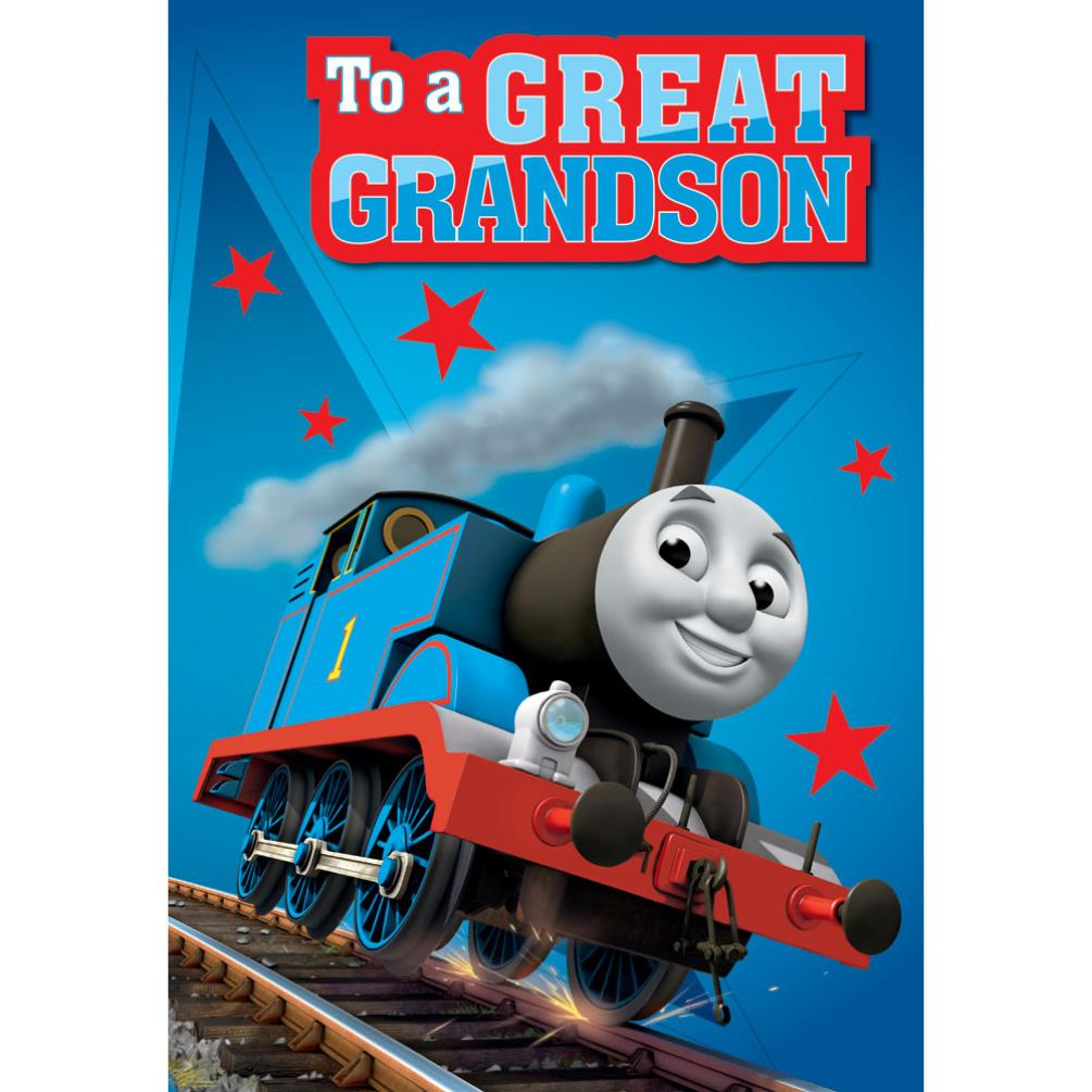 Thomas & Friends Greeting & Birthday Cards