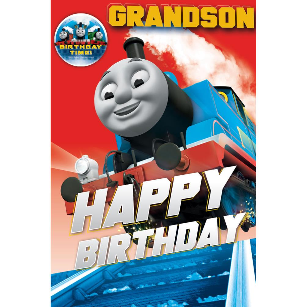 Thomas and Friends Greeting and Birthday Cards – Thomas Tank Engine Birthday Card