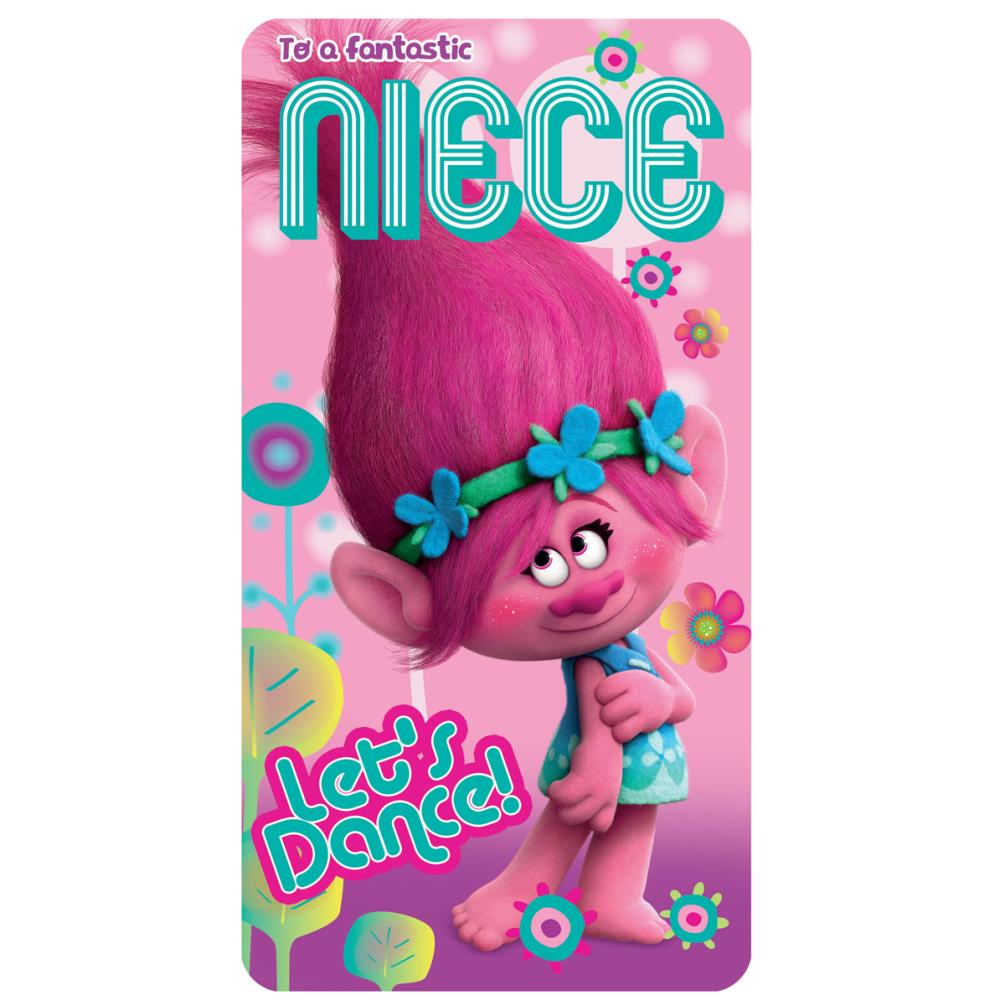 Fantastic niece trolls birthday card 242331 character brands fantastic niece trolls birthday card 210 bookmarktalkfo Image collections