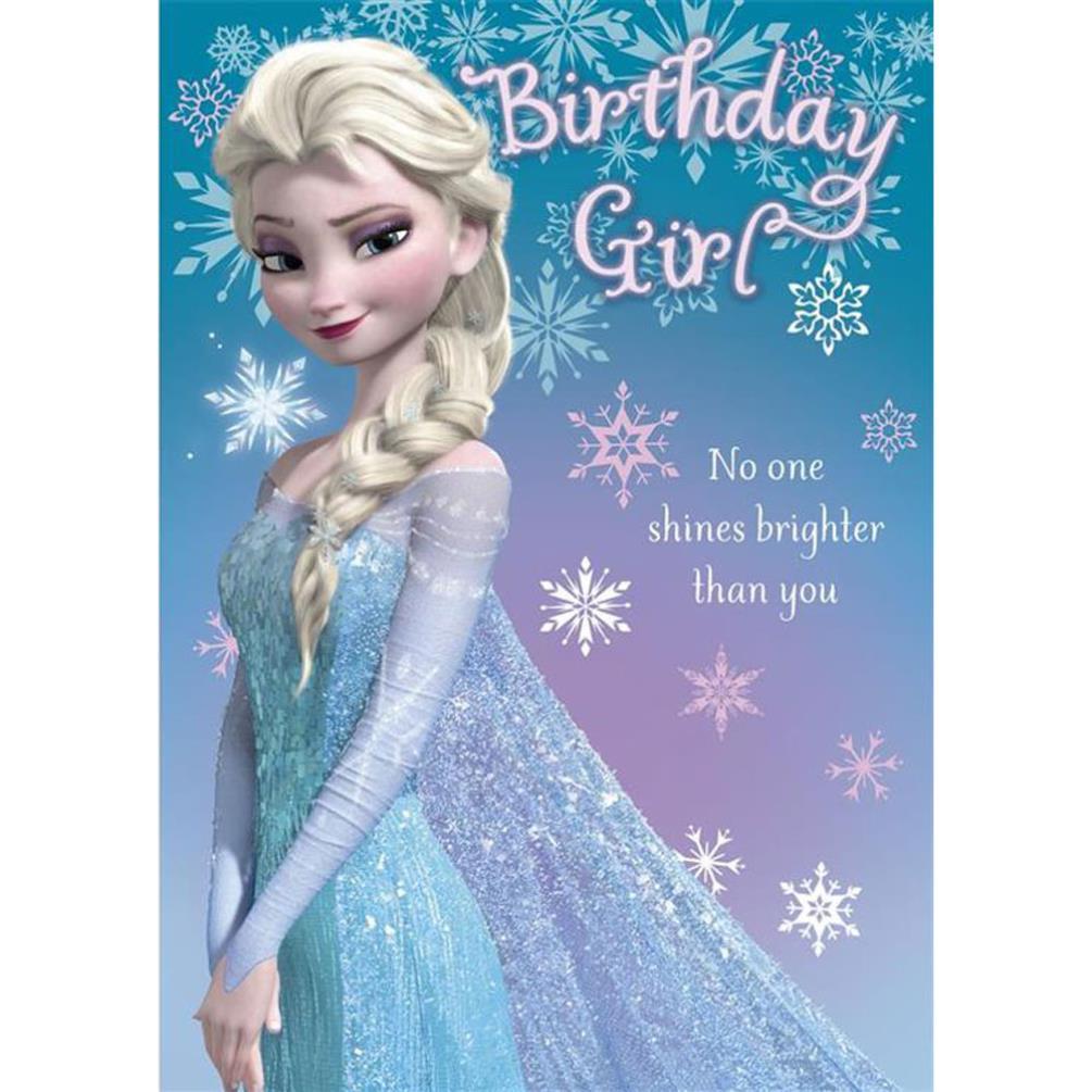 Disney Frozen Birthday Cards