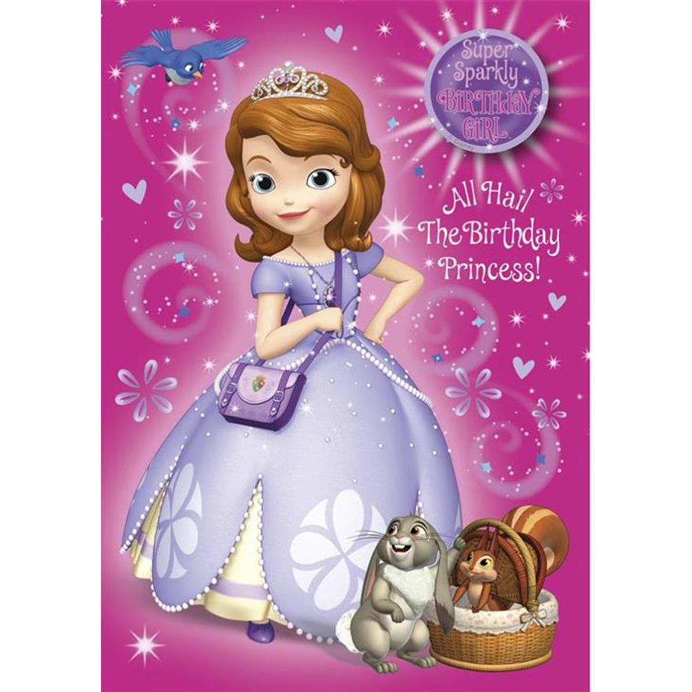 Birthday Girl Sofia Disney Princess Birthday Card 25455503