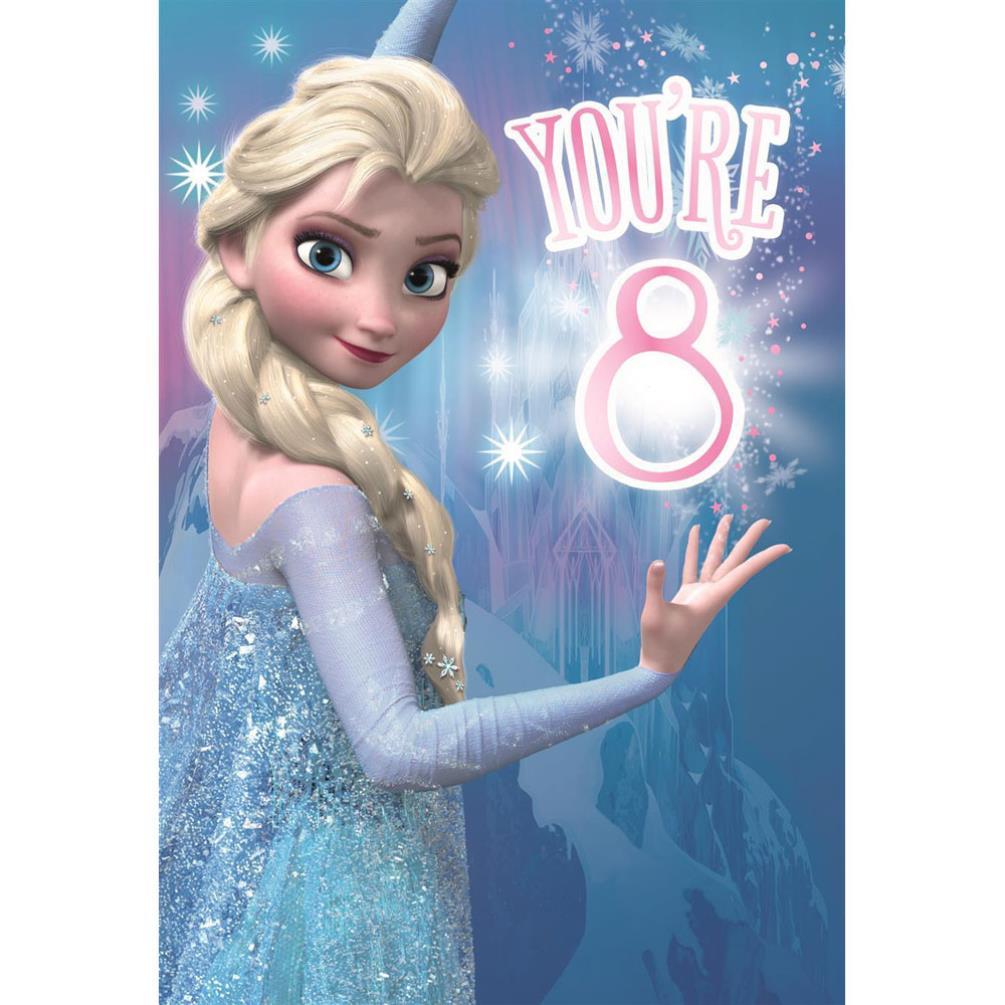 Youre 8 Elsa Disney Frozen Birthday Card 25461516 Character Brands