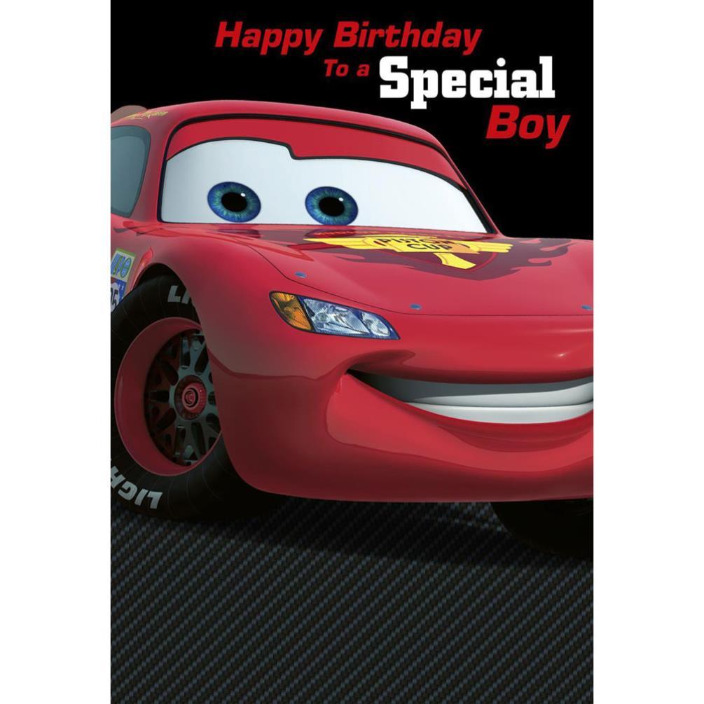Special Boy Disney Cars Birthday Card 140
