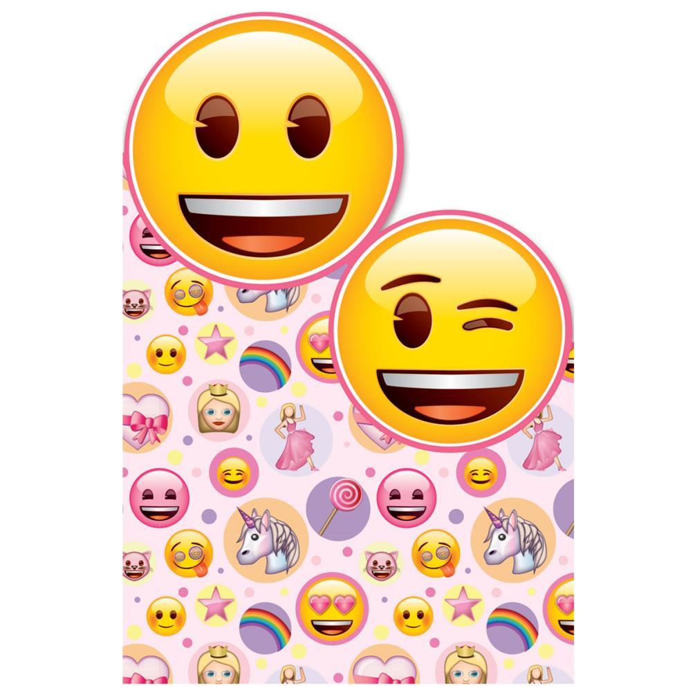 girly emoji birthday card 256123  character brands