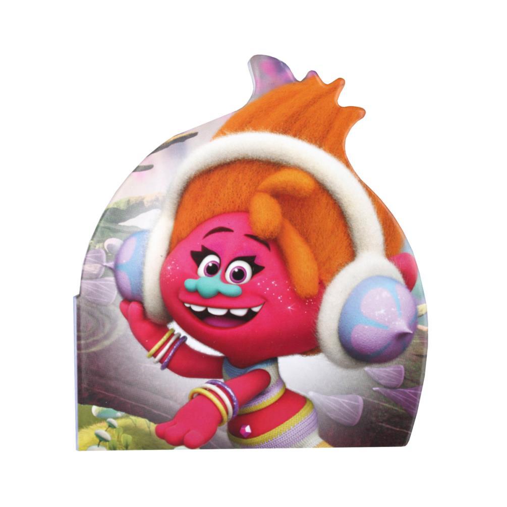 trolls dj suki shaped memo pad 32701330 5 character brands
