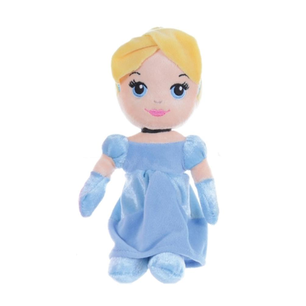 "OFFICIAL BRAND NEW 8/"" DISNEY PRINCESS CINDERELLA SOFT PLUSH TOY"