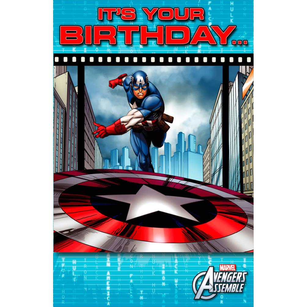 Captain America Birthday Date
