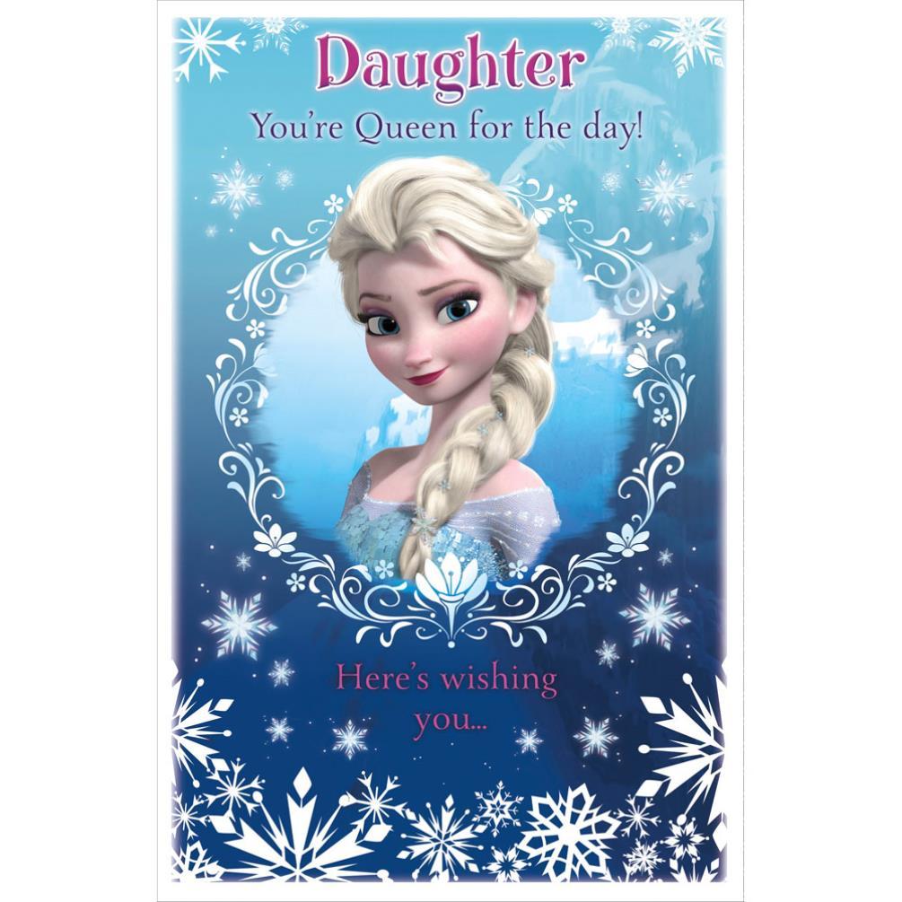 Daughter Disney Frozen Pop Up Birthday Card 465371 0 1