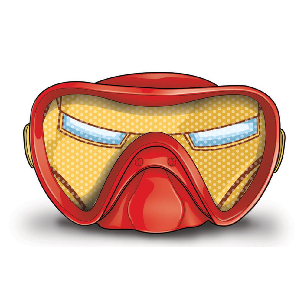 3ae99c88f5bf Marvel Avengers Iron Man Swimming Mask (5055114283677) - Character ...