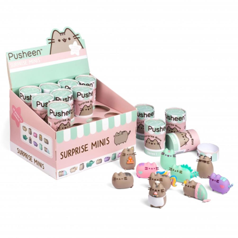 Pusheen Surprise Mystery Mini Figurine 5060491777114 Character