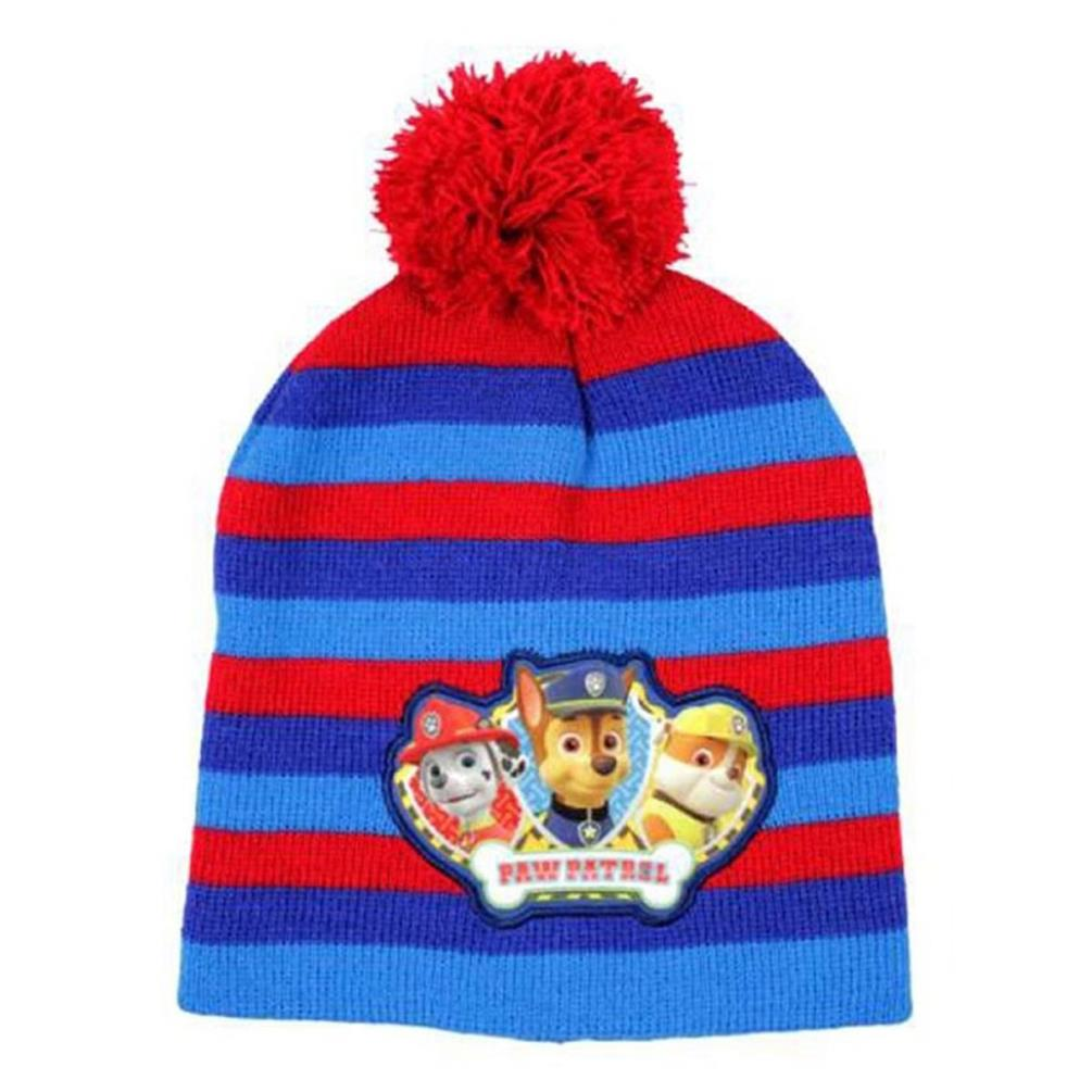 Paw Patrol Red Bobble Hat (5901854865126-R) - Character Brands 59567b4dfb07