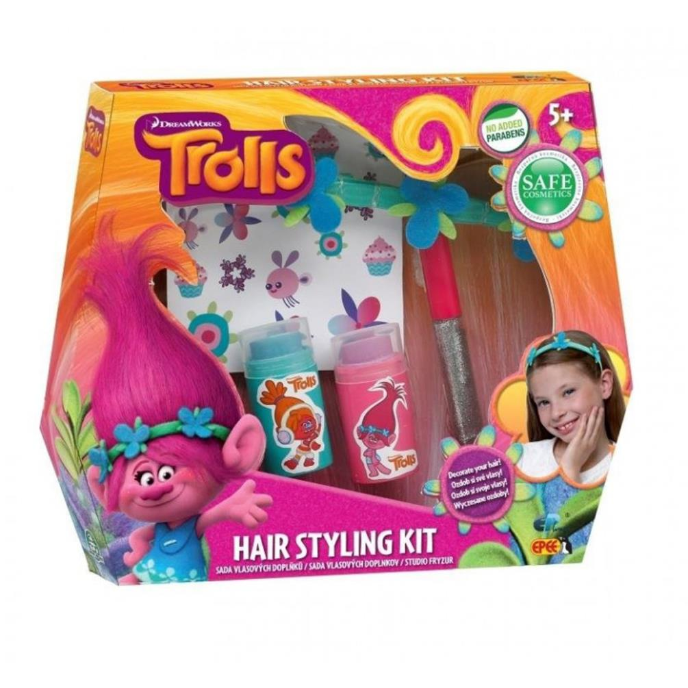 hair styling kit trolls hair styling kit 5902002970624 character brands 1953