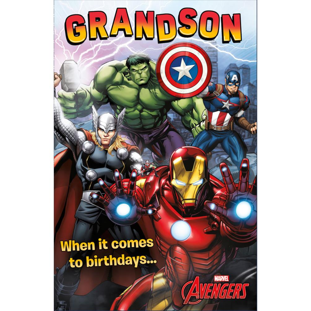 Marvel Birthday Cards Assorted – Iron Man Birthday Card
