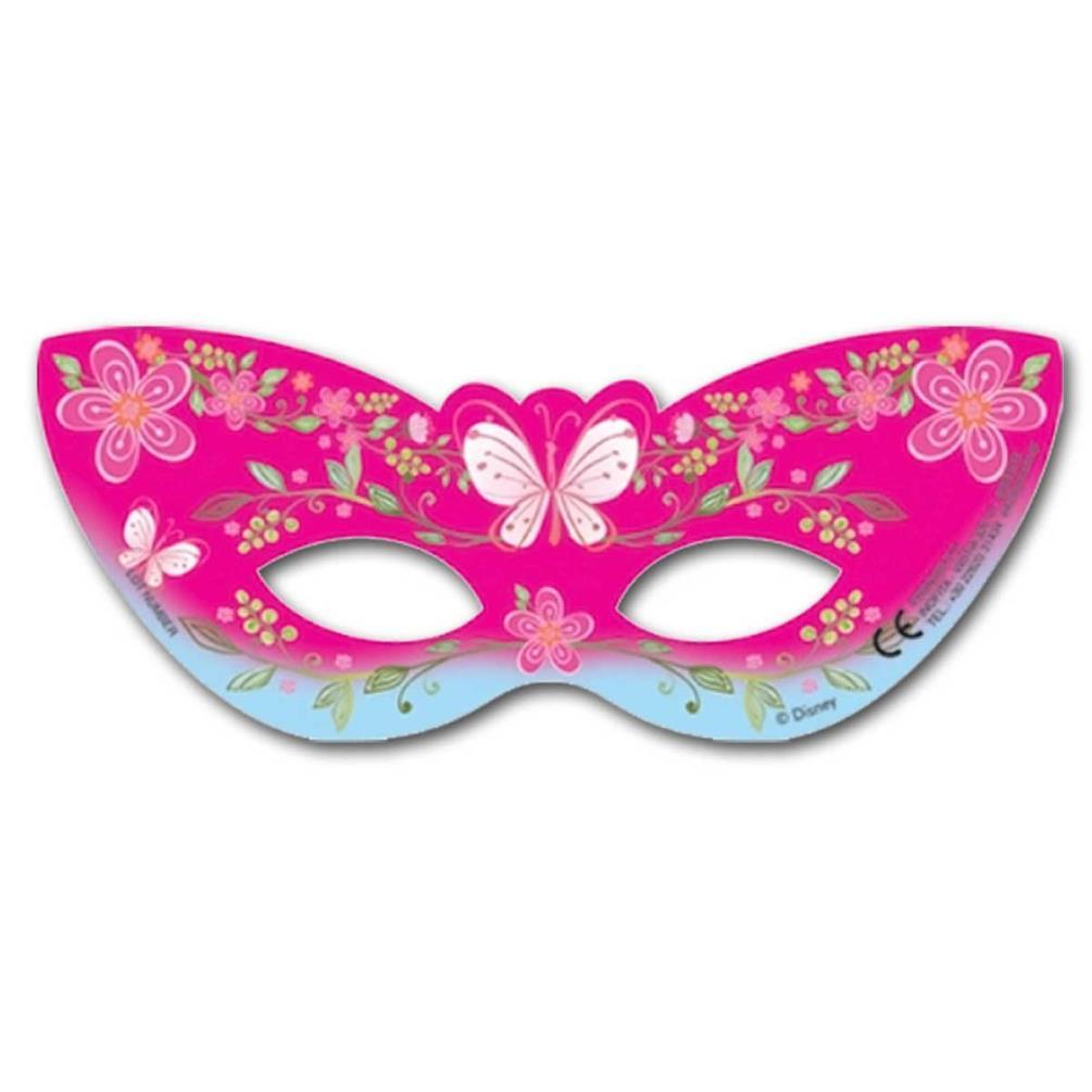 Mixed Princess Face Masks x 6 Disney Princess Party