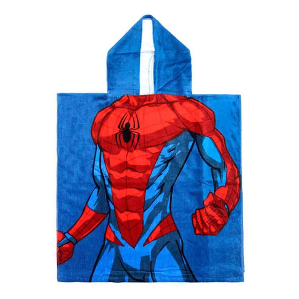 Marvel Spiderman Poncho Beach Towel Great for the Beach or Pool!