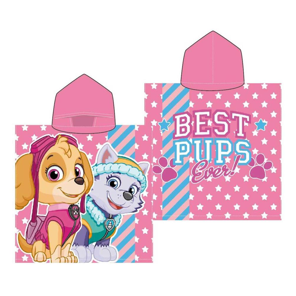 Personalized Paw Patrol Beach Towel: Paw Patrol Ponchos And Towels (Assorted)