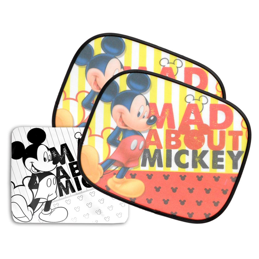 Mickey Mouse UV Car Sun Shades (Pack of 2) (8430957089803 ... ad9a4c922a8