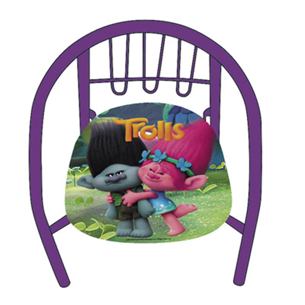 Trolls Poppy U0026 Branch Kids Metal Chair £10.99