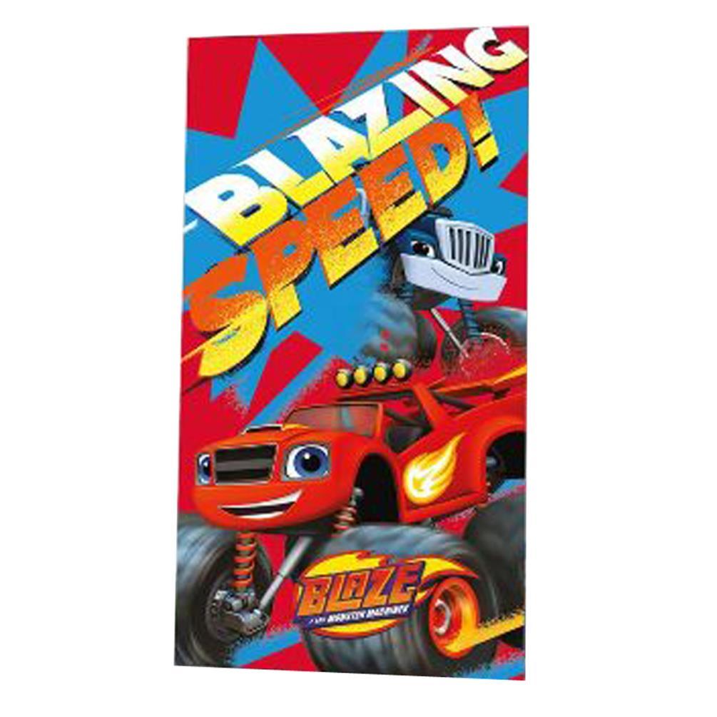 91302c287551 Blaze & The Monster Machines Blazing Speed Beach Towel