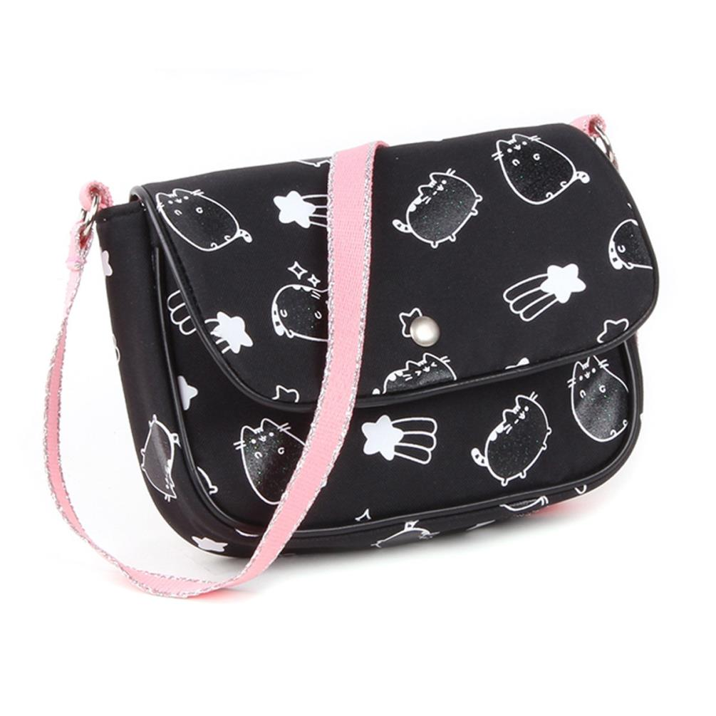 ec050d17a9cc Pusheen Black Shoulder Bag (8712645258549) - Character Brands