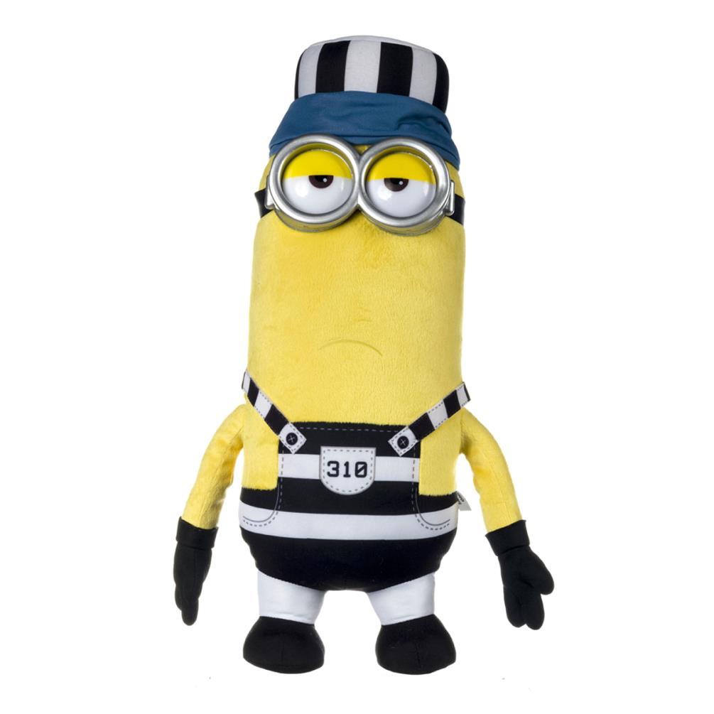 c41e4bde27c Minion Tim In Jail Large Plush Soft Toy