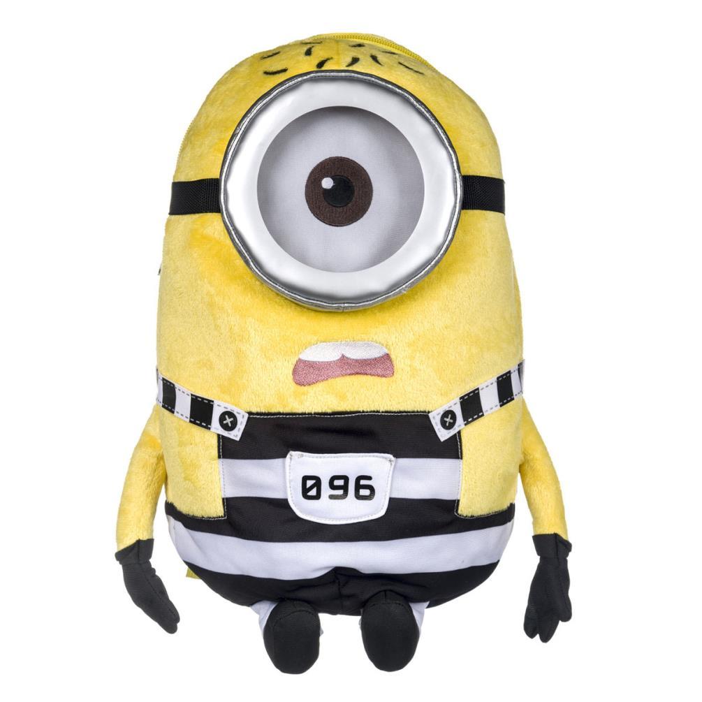 Minion Stuart In Jail Minions Plush Backpack (9320