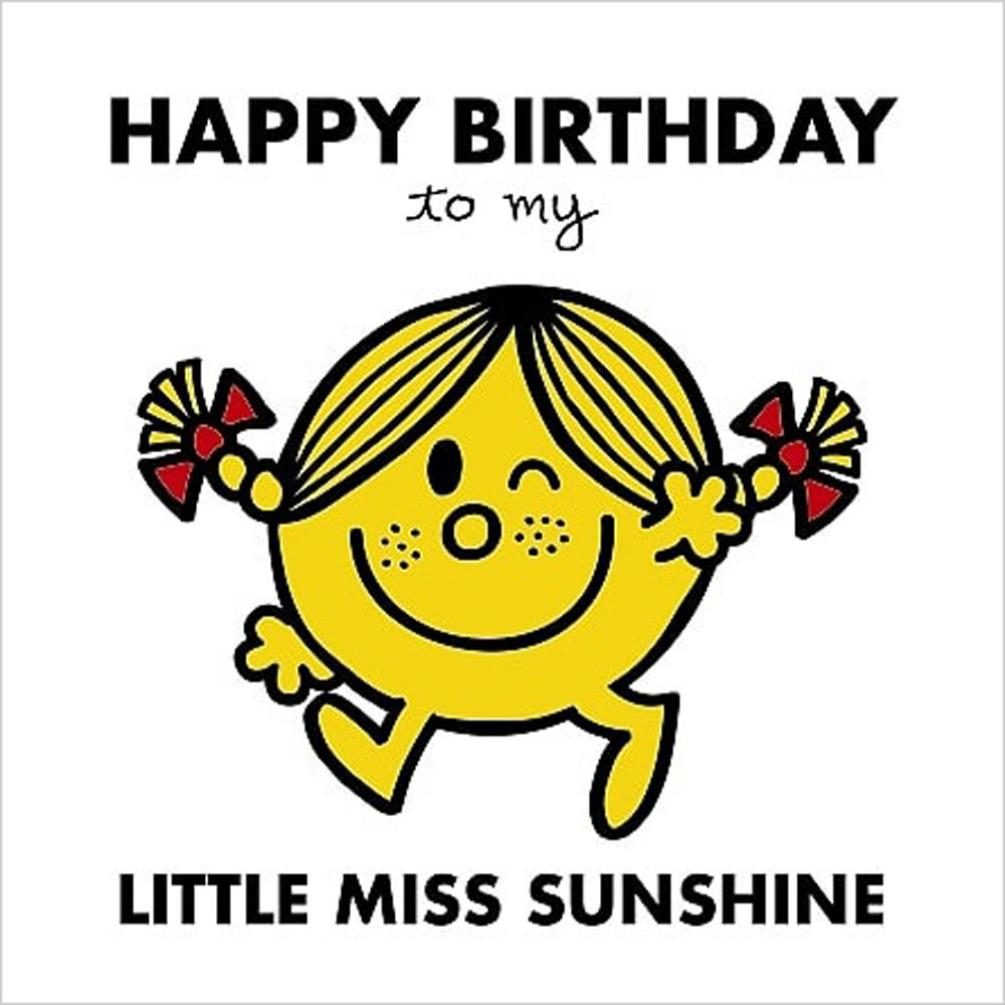 3d holographic little miss sunshine mr men birthday card