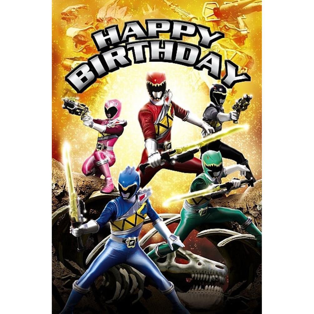 Happy birthday power rangers birthday card ap1ms009 character brands happy birthday power rangers birthday card 249 bookmarktalkfo Choice Image