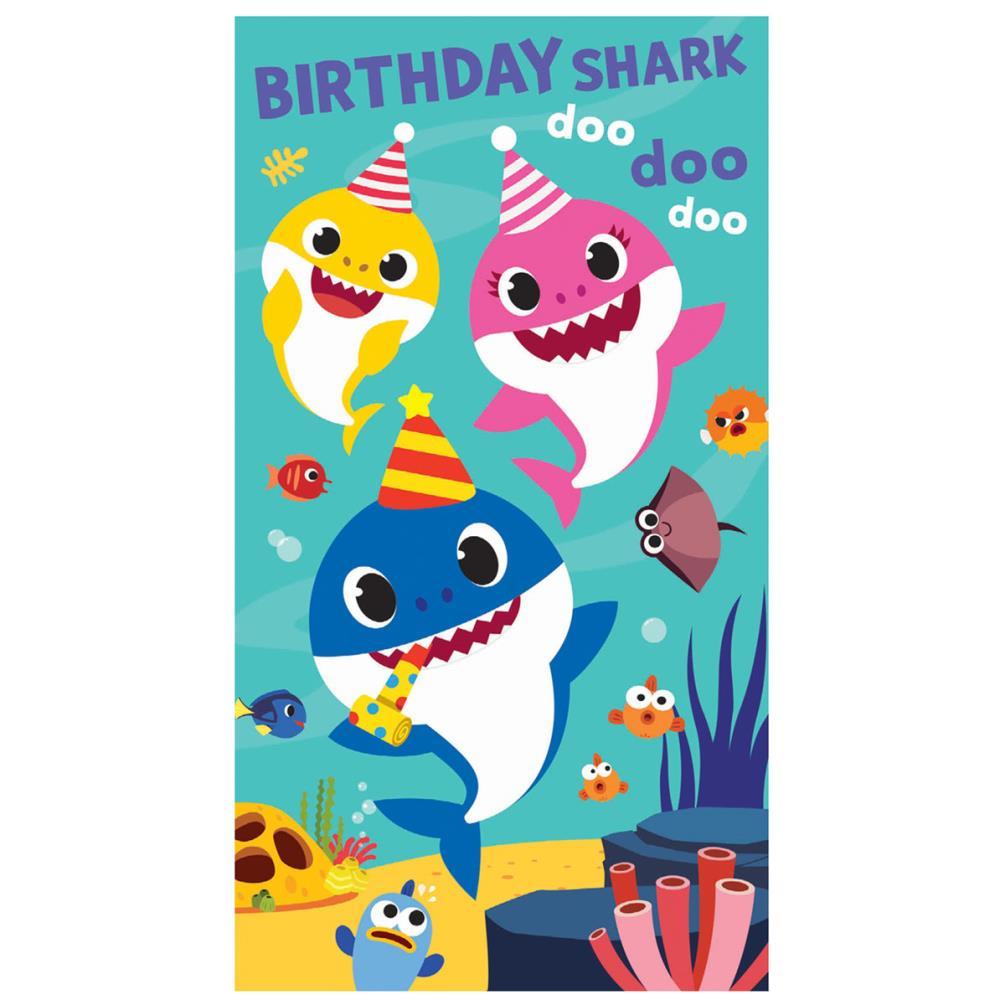 birthday shark baby shark birthday card bs029