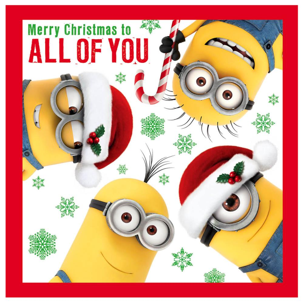 Minions Christmas Cards (Assorted) | eBay