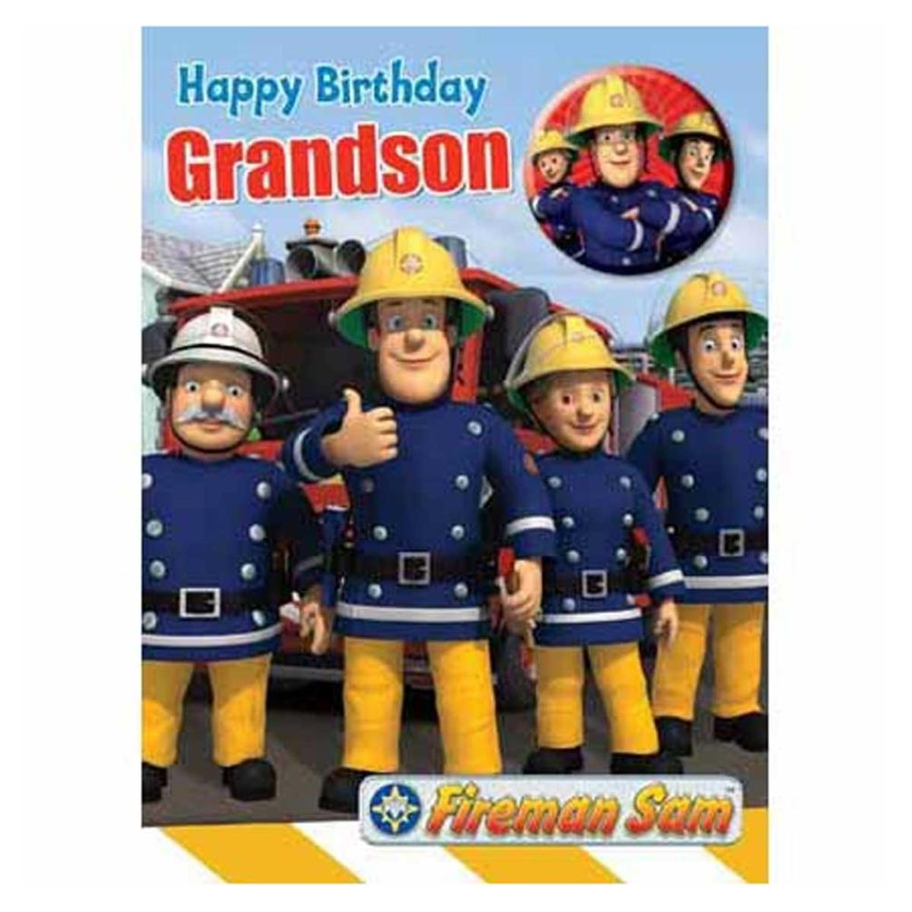 Fireman Sam Birthday Cards Assorted – Fireman Sam Birthday Cards