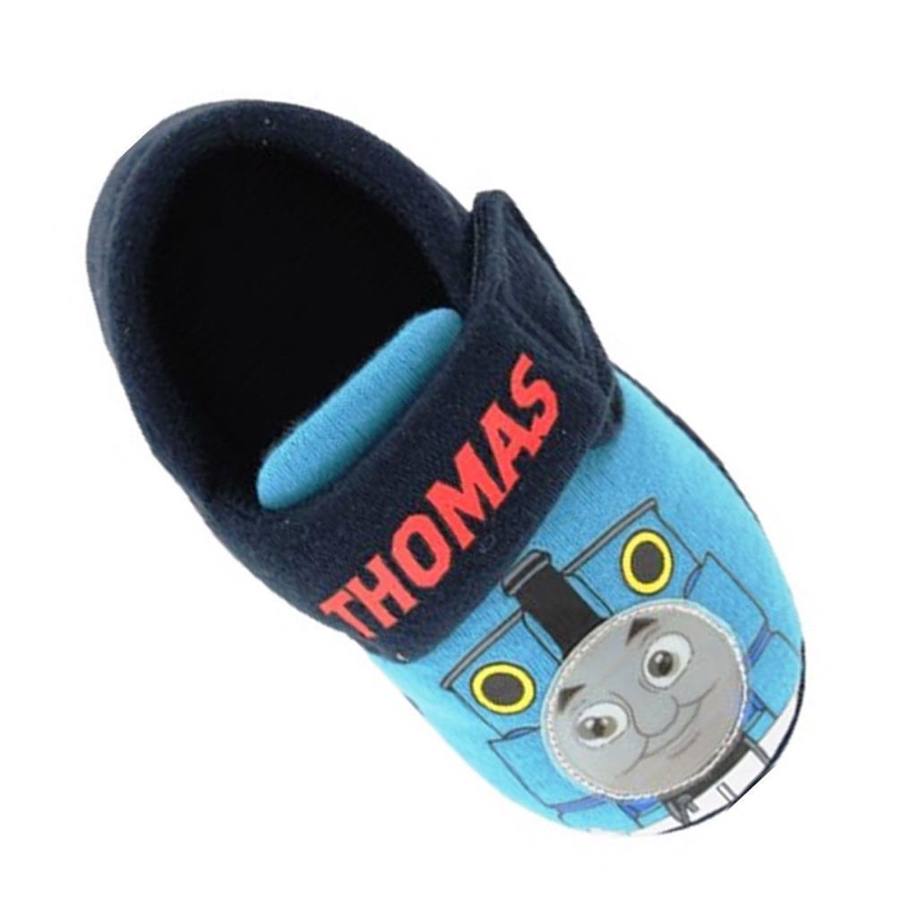 Thomas /& Friends Blue Thomas Slippers Size 5 New Gift Novelty Christmas