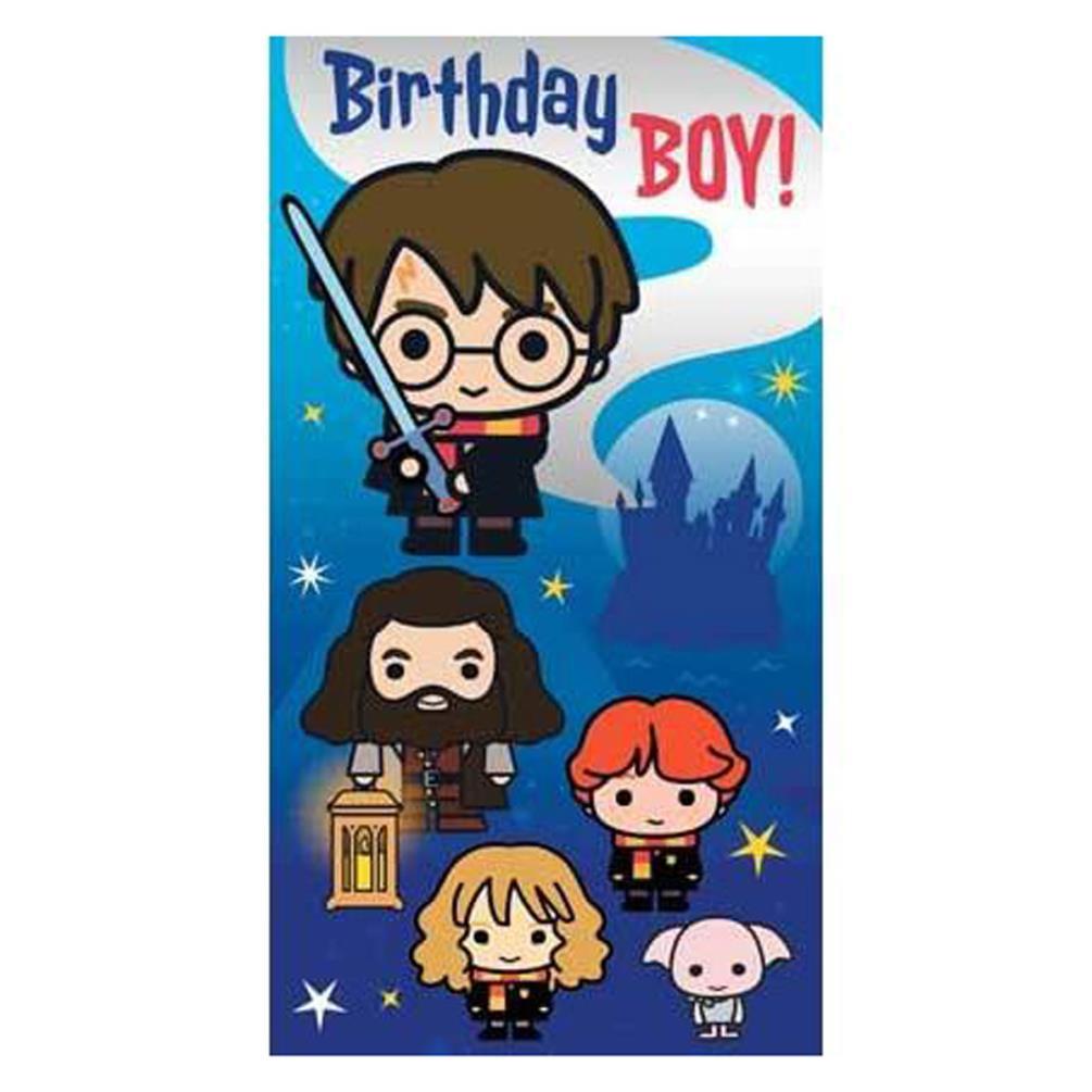 harry potter birthday boy birthday card hp012