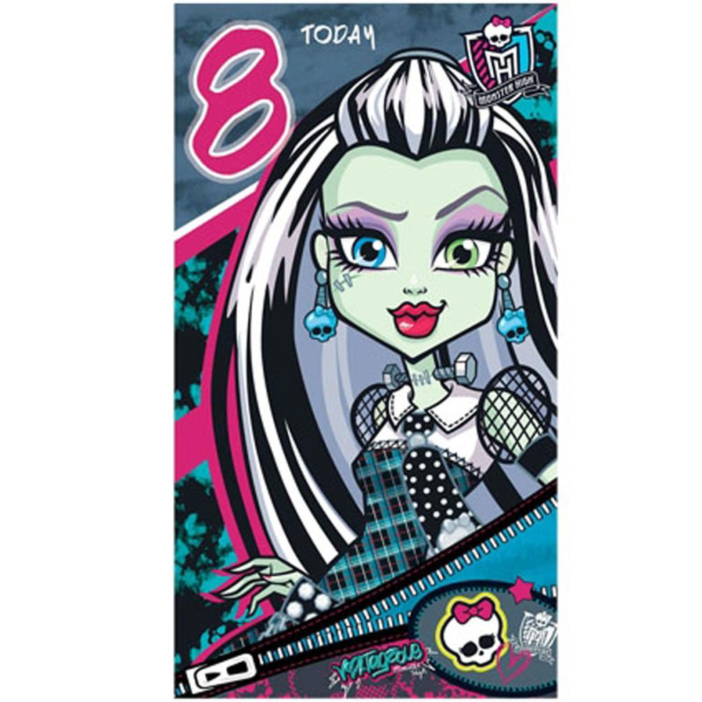 Monster High Happy Birthday Card Mh011 Character Brands