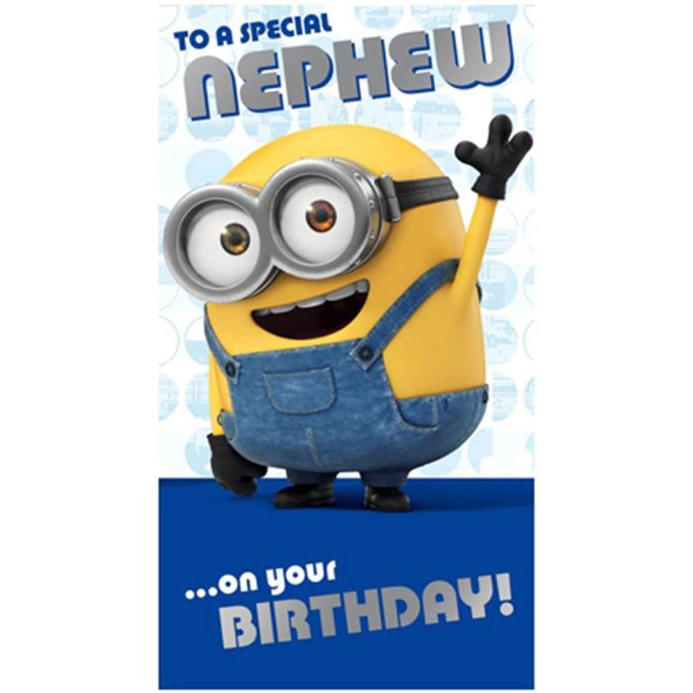 Minion birthday cards gangcraft minion birthday card collection ebay birthday card bookmarktalkfo Image collections