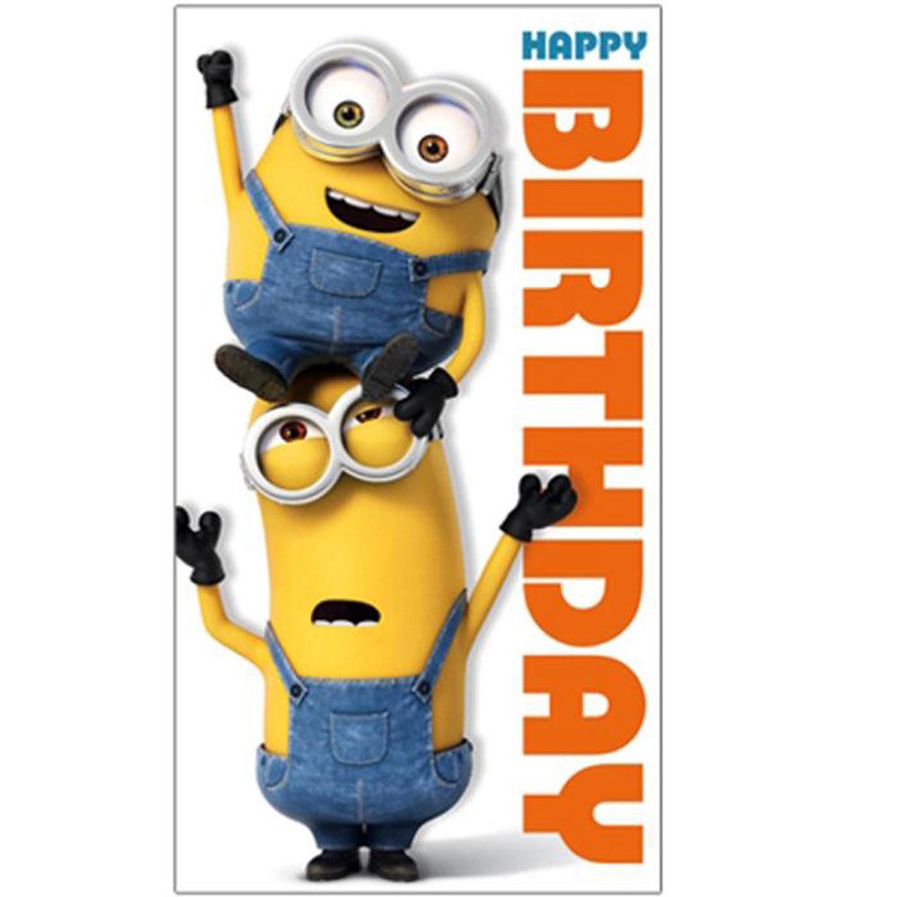 Minion Birthday Card Collection