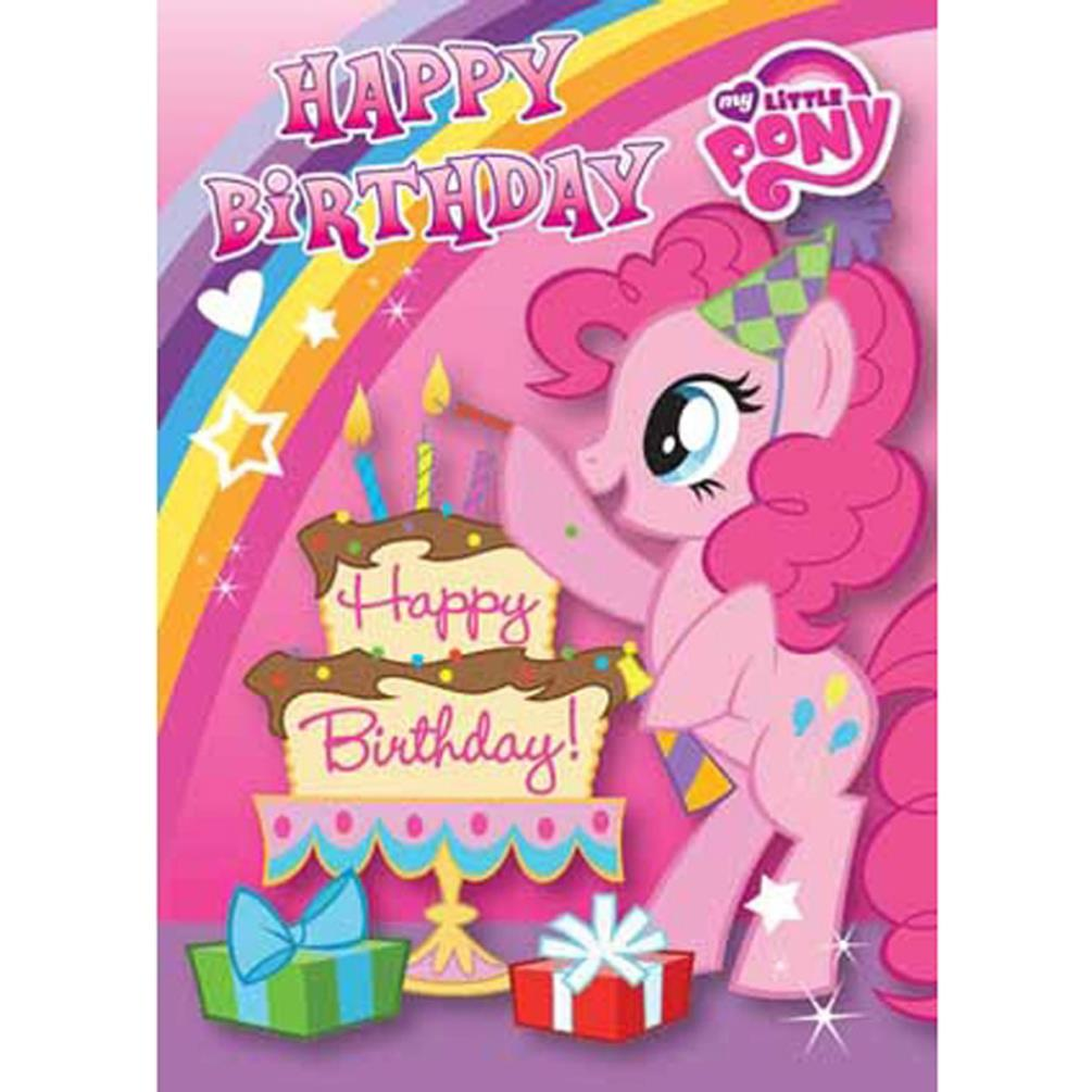 Juicy image in my little pony printable birthday cards