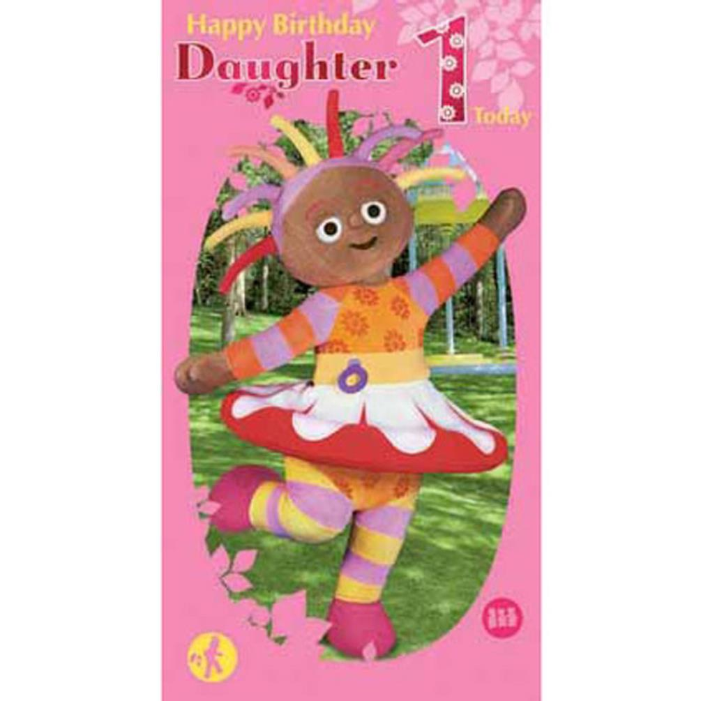 In The Night Garden Daughters 1st Birthday Card 210