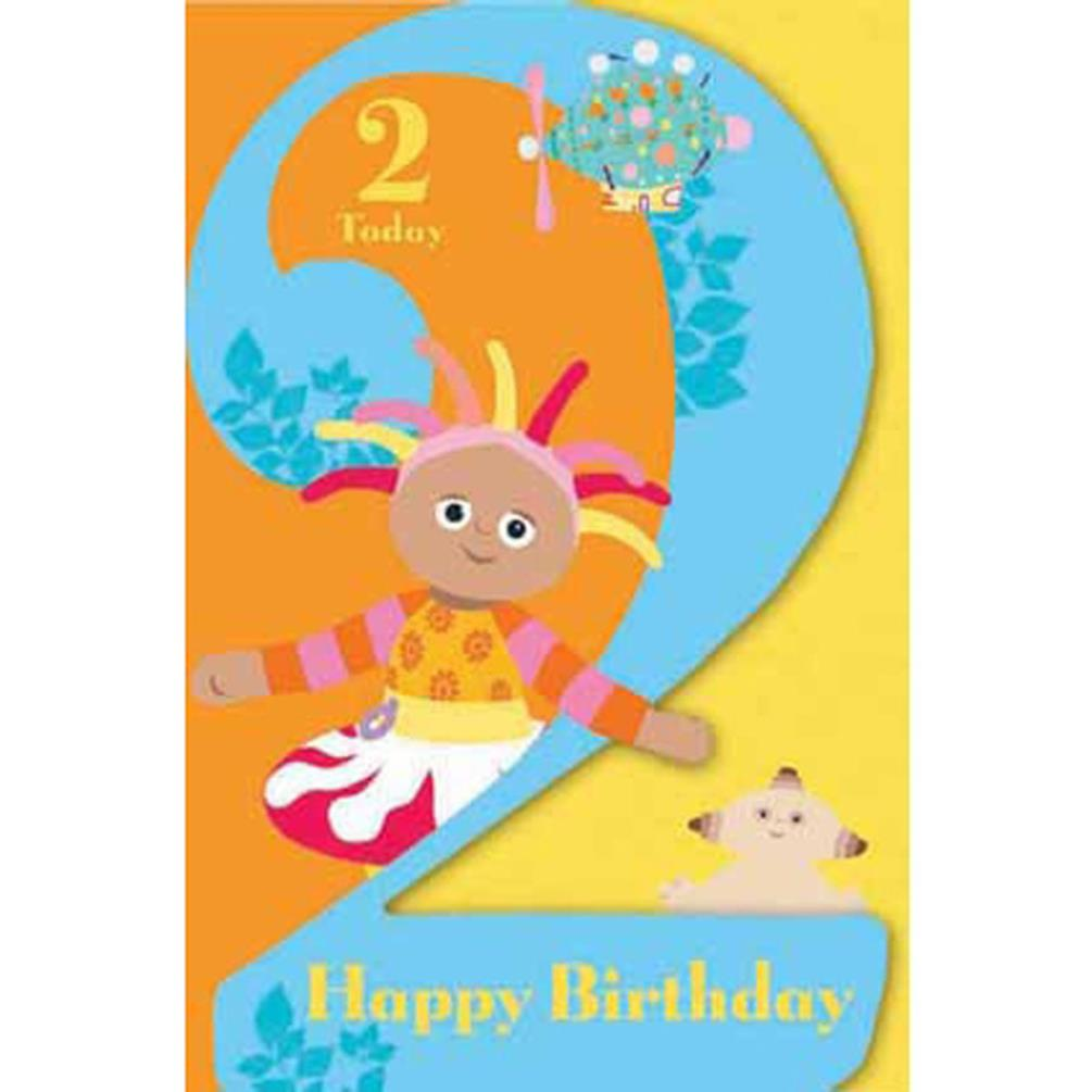 In The Night Garden 2 Today 2nd Birthday Card Ng007 Character Brands