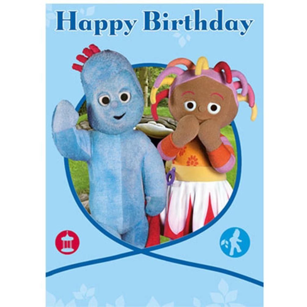 In The Night Garden Happy Birthday Card Ng044 Character Brands