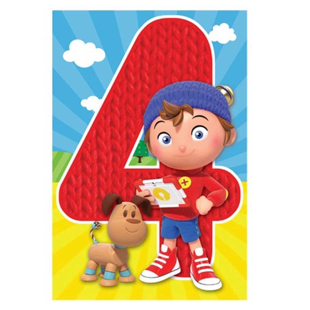 Noddy Happy 2nd Birthday Card NO001