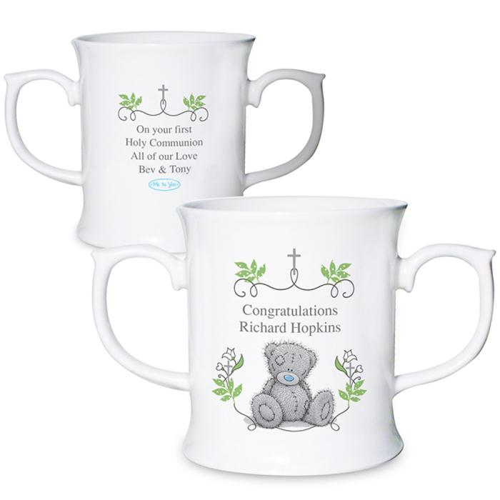 b818d9beffb Personalised Me To You Bear Double Handled Mug