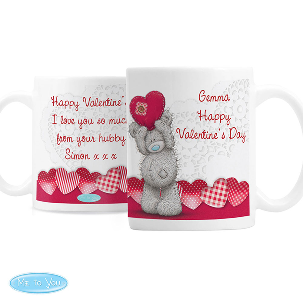 c4524b06692 Personalised Me to You Bear Heart Mug (P0805F05) - Character Brands