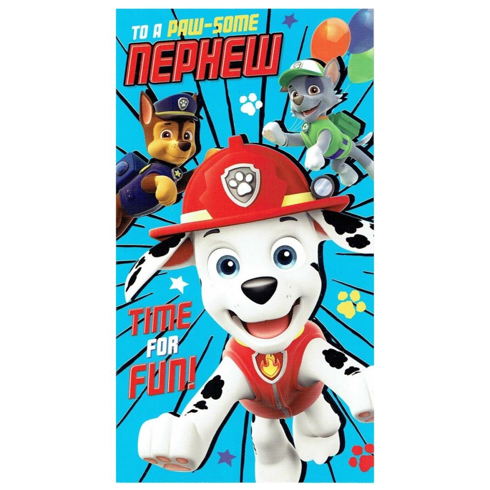 It's just a picture of Gutsy Paw Patrol Printable Birthday Card