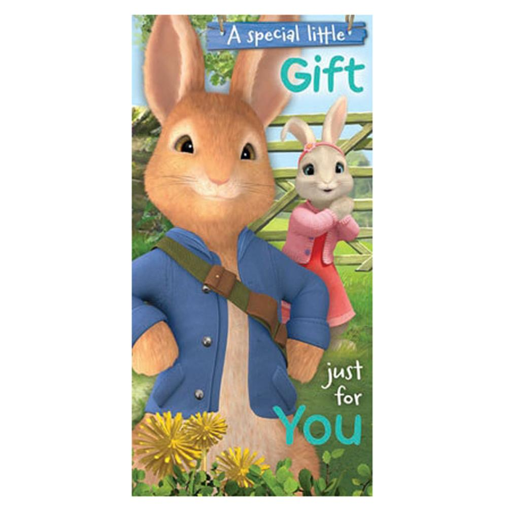 Peter Rabbit Money Wallet Birthday Card 159