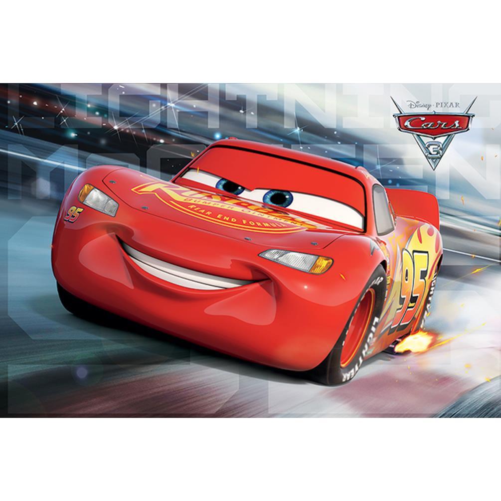 disney cars 3 lightning mcqueen maxi poster pp34144
